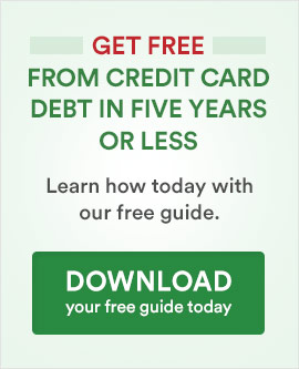 Get Free from Credit Card Debt CTA