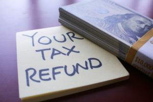 use your tax refund
