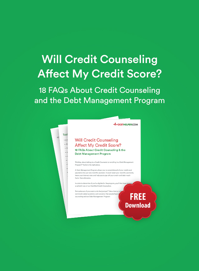 18 FAQs about credit counseling